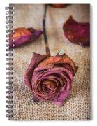 Dead Rose Spiral Notebook