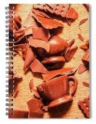 Death By Chocolate Spiral Notebook