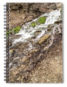 Decorah Iowa Waterfall Spiral Notebook