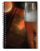 Dent Island Sunset Spiral Notebook