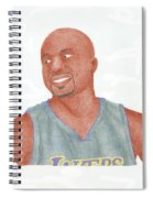 Derek Fisher Spiral Notebook