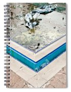 Derelict Swimming Pool Spiral Notebook