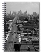 Detroit 1942 Spiral Notebook