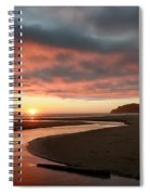 Devils Kitchen Sunset Spiral Notebook