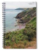 Devon Coastal View Spiral Notebook