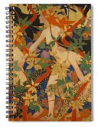 Diana And Her Nymphs Spiral Notebook