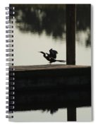 Dock Bird Spiral Notebook