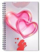 Does She Love Me Or Not? Spiral Notebook