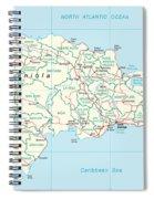 Dominican Republic Spiral Notebook