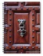 Door Knocker Spiral Notebook