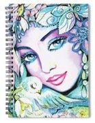 Dove Fairy Spiral Notebook