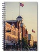 Downtown Beloit Spiral Notebook