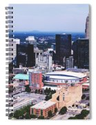 Downtown Charlotte Spiral Notebook