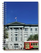 Downtown New Orleans Spiral Notebook