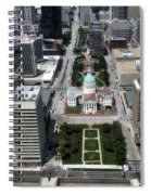Downtown St Louis Spiral Notebook