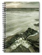 Dreamy Waves Spiral Notebook