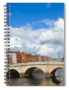 Dublin's Fairytales Around  River Liffey 2 Spiral Notebook