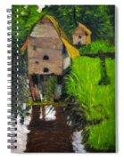 Duck Houses Spiral Notebook