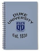 Duke University Est 1838 Spiral Notebook