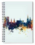 Dundee Scotland Skyline Spiral Notebook