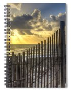 Dune Fence Spiral Notebook
