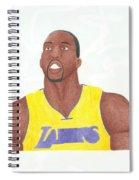 Dwight Howard Spiral Notebook