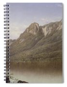 Eagle Cliff At Franconia Notch In New Hampshire Spiral Notebook