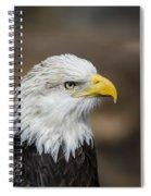 Eagle Profile Spiral Notebook