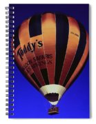 Early Morning Balloon Ride Spiral Notebook