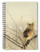 Early Plum Blossoms Spiral Notebook