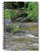 East Lyn River  Spiral Notebook
