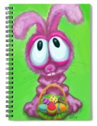 Easter Bunny Spiral Notebook