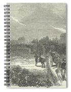 Easter Hunt With The Royal Stag Hounds  The Meet At Stoke Common Spiral Notebook