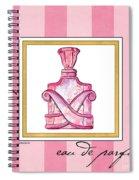 Eau De Parfum Spiral Notebook