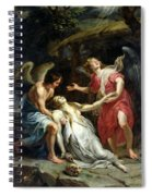 Ecstasy Of Mary Magdalene Spiral Notebook