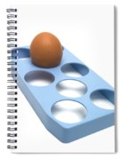 Egg Spiral Notebook