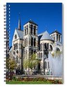 Eglise Notre - Dame En Vaux Spiral Notebook