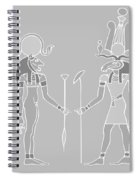 Egyptian Gods And Goddess Spiral Notebook