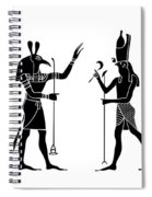 Egyptian Gods Spiral Notebook