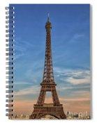 Eiffel Tower In France Spiral Notebook