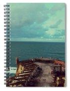 El Morro San Juan Puerto Rico Spiral Notebook