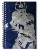 Eli Manning Giants Spiral Notebook