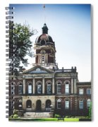 Elkhart County Courthouse - Goshen, Indiana Spiral Notebook