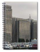 Embarcadero Center Buildings In San Francisco, California Spiral Notebook