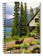 Emerald Lake Yoho National Park Spiral Notebook