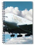 Emirates A380 Spiral Notebook