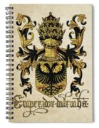 Emperor Of Germany Coat Of Arms - Livro Do Armeiro-mor Spiral Notebook