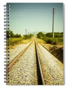 Empty Railway Spiral Notebook