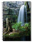 Enchanted Waterfall Spiral Notebook