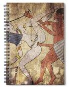 Erotic Drawing Looks Like Fresco Spiral Notebook